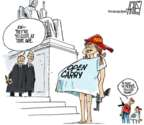 Cartoonist Steve Artley  Steve Artley's Editorial Cartoons 2018-06-28 supreme