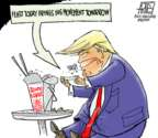 Cartoonist Steve Artley  Steve Artley's Editorial Cartoons 2019-08-19 Donald Trump