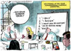 Cartoonist Jack Ohman  Jack Ohman's Editorial Cartoons 2018-01-12 resignation