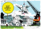 Cartoonist Jack Ohman  Jack Ohman's Editorial Cartoons 2018-01-24 Donald Trump Steve Bannon