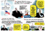 Cartoonist Jack Ohman  Jack Ohman's Editorial Cartoons 2018-02-01 Fox News