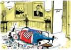 Cartoonist Jack Ohman  Jack Ohman's Editorial Cartoons 2018-02-27 republican party