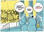 Cartoonist Jack Ohman  Jack Ohman's Editorial Cartoons 2018-04-02 Donald Trump Lawyers