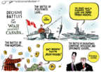 Cartoonist Jack Ohman  Jack Ohman's Editorial Cartoons 2018-06-11 battle