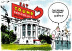 Cartoonist Jack Ohman  Jack Ohman's Editorial Cartoons 2018-06-26 emoluments clause