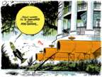 Cartoonist Jack Ohman  Jack Ohman's Editorial Cartoons 2018-07-06 resignation
