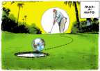 Cartoonist Jack Ohman  Jack Ohman's Editorial Cartoons 2018-07-10 Mar-a-Lago
