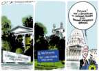 Cartoonist Jack Ohman  Jack Ohman's Editorial Cartoons 2018-07-11 senate majority leader