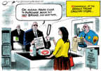 Cartoonist Jack Ohman  Jack Ohman's Editorial Cartoons 2018-08-02 grocery shop