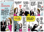 Cartoonist Jack Ohman  Jack Ohman's Editorial Cartoons 2018-08-19 Jack