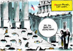 Cartoonist Jack Ohman  Jack Ohman's Editorial Cartoons 2018-11-21 building