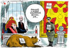 Cartoonist Jack Ohman  Jack Ohman's Editorial Cartoons 2019-01-15 symbol