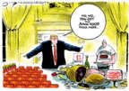 Cartoonist Jack Ohman  Jack Ohman's Editorial Cartoons 2019-01-18 government shutdown