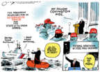 Cartoonist Jack Ohman  Jack Ohman's Editorial Cartoons 2019-01-23 government shutdown