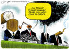 Cartoonist Jack Ohman  Jack Ohman's Editorial Cartoons 2019-02-26 Donald Trump