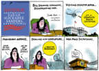 Cartoonist Jack Ohman  Jack Ohman's Editorial Cartoons 2019-06-20 election