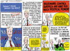 Cartoonist Jack Ohman  Jack Ohman's Editorial Cartoons 2019-07-14 television cartoon