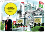 Cartoonist Jack Ohman  Jack Ohman's Editorial Cartoons 2019-07-16 president