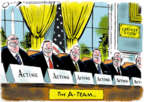 Cartoonist Jack Ohman  Jack Ohman's Editorial Cartoons 2019-07-17 leadership