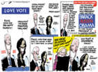 Cartoonist Jack Ohman  Jack Ohman's Editorial Cartoons 2019-07-28 Delaware election