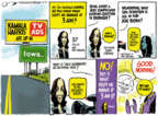 Cartoonist Jack Ohman  Jack Ohman's Editorial Cartoons 2019-08-11 democrat
