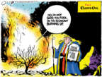 Cartoonist Jack Ohman  Jack Ohman's Editorial Cartoons 2019-08-23 leadership
