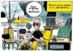 Cartoonist Jack Ohman  Jack Ohman's Editorial Cartoons 2019-09-17 democrat