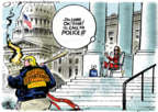 Cartoonist Jack Ohman  Jack Ohman's Editorial Cartoons 2019-09-24 democrat