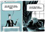Cartoonist Jack Ohman  Jack Ohman's Editorial Cartoons 2019-09-27 leadership