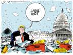 Cartoonist Jack Ohman  Jack Ohman's Editorial Cartoons 2019-10-01 leadership