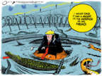 Cartoonist Jack Ohman  Jack Ohman's Editorial Cartoons 2019-10-04 immigration