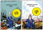 Cartoonist Jack Ohman  Jack Ohman's Editorial Cartoons 2019-10-12 impeachment