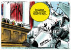 Cartoonist Jack Ohman  Jack Ohman's Editorial Cartoons 2019-11-01 air travel