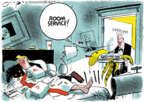 Cartoonist Jack Ohman  Jack Ohman's Editorial Cartoons 2019-11-21 congressional scandal