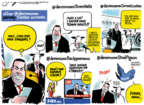 Cartoonist Jack Ohman  Jack Ohman's Editorial Cartoons 2019-12-01 congressional leadership