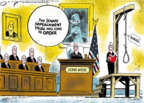Cartoonist Jack Ohman  Jack Ohman's Editorial Cartoons 2019-12-17 republican senate
