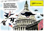 Cartoonist Jack Ohman  Jack Ohman's Editorial Cartoons 2020-01-17 congressional scandal