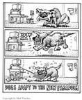 Cartoonist Matt Wuerker  Matt Wuerker's Editorial Cartoons 2002-00-00 dog