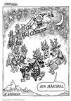 Cartoonist Matt Wuerker  Matt Wuerker's Editorial Cartoons 2002-09-16 war on Christmas