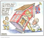 Cartoonist Matt Wuerker  Matt Wuerker's Editorial Cartoons 2007-03-16 confederate
