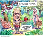 Cartoonist Matt Wuerker  Matt Wuerker's Editorial Cartoons 2008-10-16 fruit