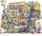 Cartoonist Matt Wuerker  Matt Wuerker's Editorial Cartoons 2008-10-31 2008 election