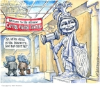 Cartoonist Matt Wuerker  Matt Wuerker's Editorial Cartoons 2008-11-18 democratic party