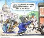 Cartoonist Matt Wuerker  Matt Wuerker's Editorial Cartoons 2008-11-20 payment