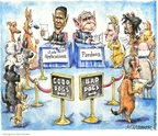 Cartoonist Matt Wuerker  Matt Wuerker's Editorial Cartoons 2008-12-09 bad dog