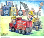 Cartoonist Matt Wuerker  Matt Wuerker's Editorial Cartoons 2008-12-11 Jeff