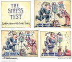 Cartoonist Matt Wuerker  Matt Wuerker's Editorial Cartoons 2009-03-11 trap