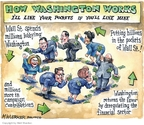 Cartoonist Matt Wuerker  Matt Wuerker's Editorial Cartoons 2009-03-25 Washington