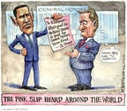 Cartoonist Matt Wuerker  Matt Wuerker's Editorial Cartoons 2009-03-31 global economy