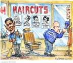 Cartoonist Matt Wuerker  Matt Wuerker's Editorial Cartoons 2009-04-01 labor